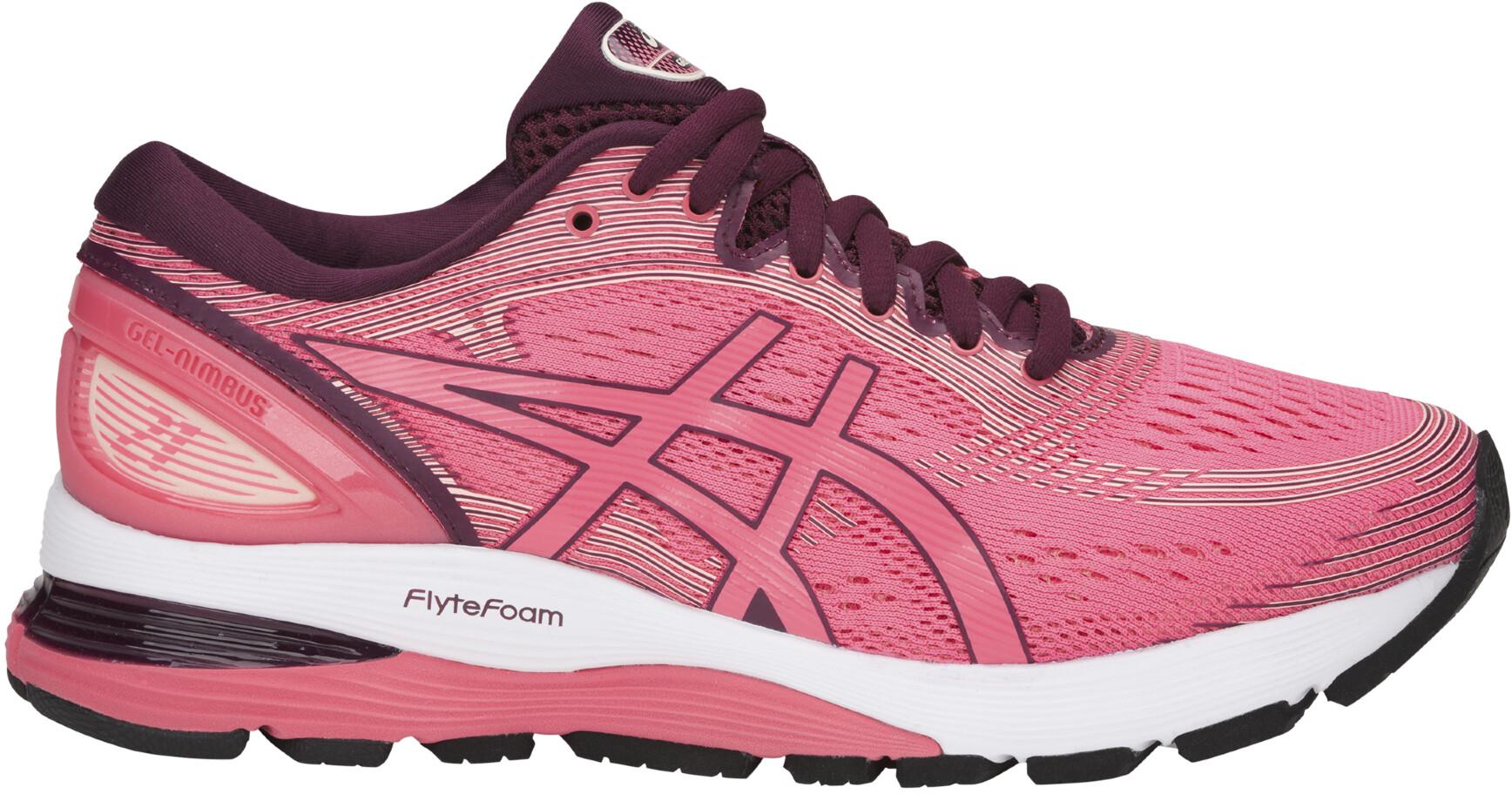 188b02f61aac asics Gel-Nimbus 21 Running Shoes Women pink at Addnature.co.uk